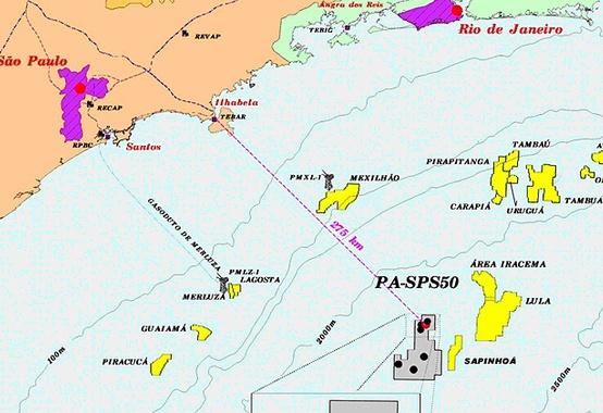Poço de extensão no bloco BM-S-9 confirma óleo de boa qualidade