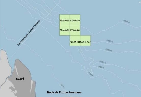 Petrobras assume operação de seis blocos em águas ultraprofundas na Foz do Amazonas