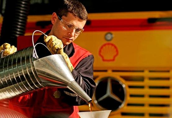 Shell é reconhecida como líder global em lubrificantes