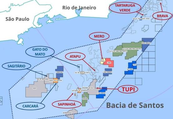 Pré-Sal Petróleo faz licitação para contratar agente comercializador para o petróleo da União da Área Individualizada de Tupi