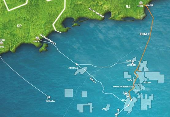 Pré-sal na Bacia de Santos será responsável por 70% da produção bruta de gás natural no país