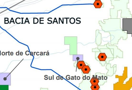 Campo Sul do Gato do Mato, no pré-sal da Bacia de Santos tem nova composição