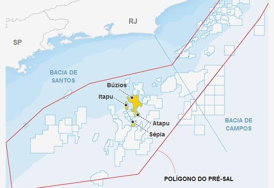 Com uma produção média de 40 mil bpd por poço, Búzios alcança 790 mil boe/d com a P-74, P-75, P-76 e P-77