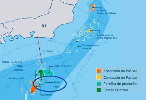 Excedentes de Atapu e Sépia terá presença da Petrobras na disputa