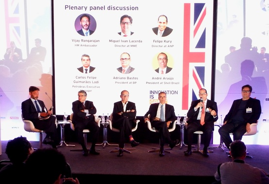 Felipe Kury da ANP participou do UK Energy in Brazil
