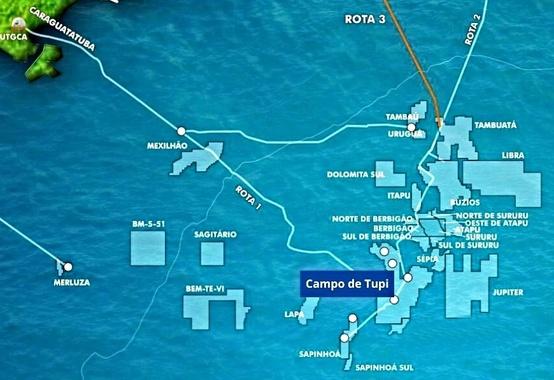 Campo de Lula passa a se chamar campo de Tupi, comunica Petrobras